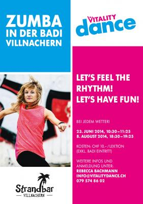 ZUMBA in der Badi